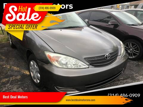 2003 Toyota Camry for sale at Best Deal Motors in Saint Charles MO