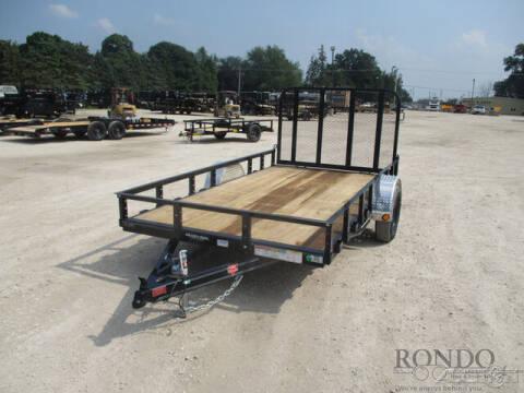 2022 PJ Trailer U7 Single Axle Utility U721231 for sale at Rondo Truck & Trailer in Sycamore IL