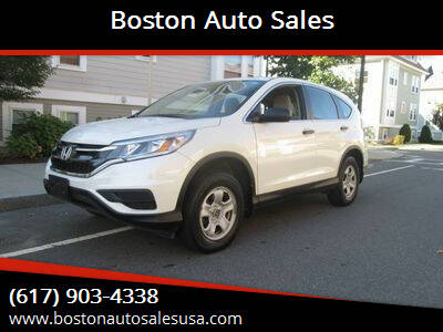 2016 Honda CR-V for sale at Boston Auto Sales in Brighton MA