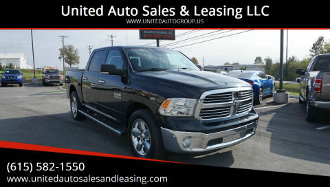 2016 RAM Ram Pickup 1500 for sale at United Auto Sales & Leasing LLC in La Vergne TN