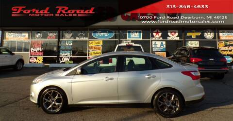 2013 Ford Focus for sale at Ford Road Motor Sales in Dearborn MI