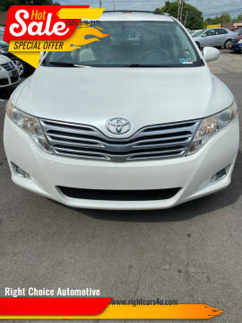 2010 Toyota Venza for sale at Right Choice Automotive in Rochester NY