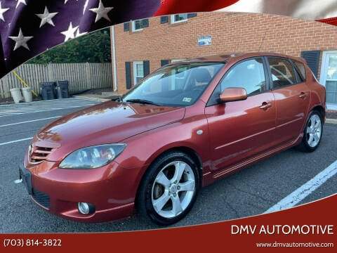 2004 Mazda MAZDA3 for sale at DMV Automotive in Falls Church VA