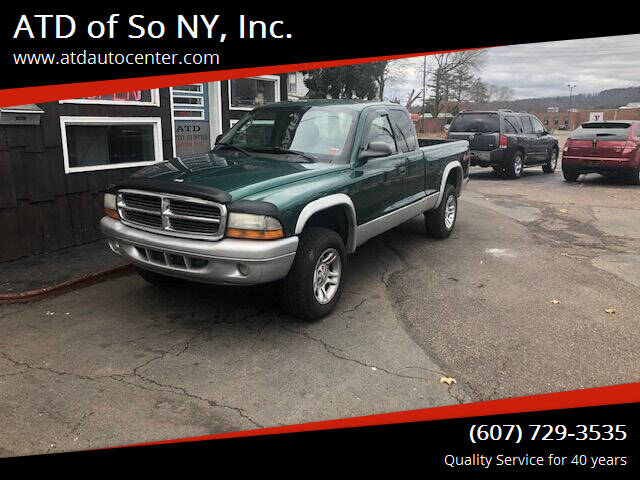2004 Dodge Dakota for sale at ATD of So NY, Inc. in Johnson City NY
