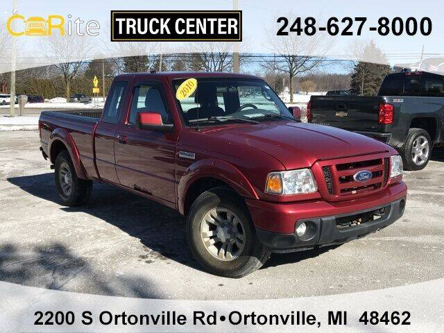 2010 Ford Ranger for sale at Carite Truck Center in Ortonville MI