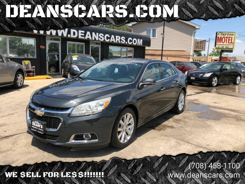 2014 Chevrolet Malibu for sale at DEANSCARS.COM in Bridgeview IL