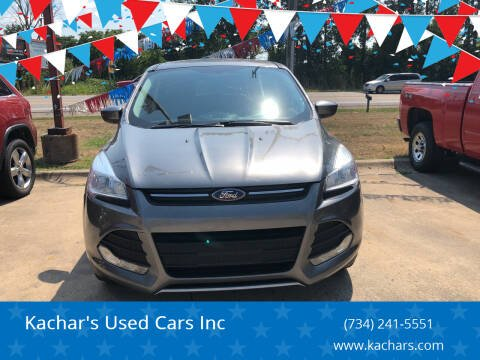2014 Ford Escape for sale at Kachar's Used Cars Inc in Monroe MI