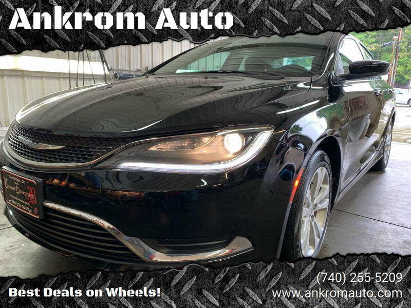 2016 Chrysler 200 for sale at Ankrom Auto in Cambridge OH