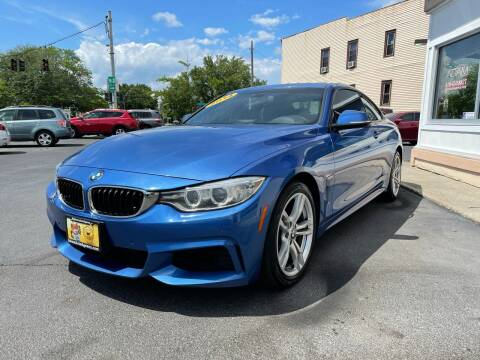 2014 BMW 4 Series for sale at ADAM AUTO AGENCY in Rensselaer NY