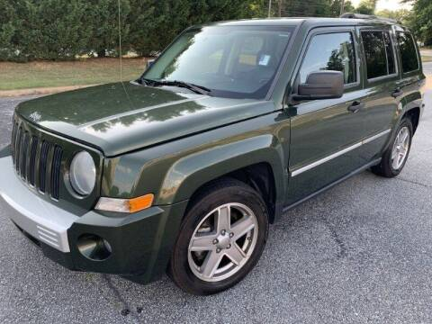 2008 Jeep Patriot for sale at JES Auto Sales LLC in Fairburn GA