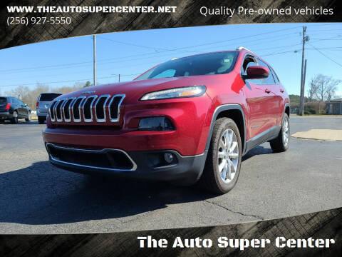 2017 Jeep Cherokee for sale at The Auto Super Center in Centre AL