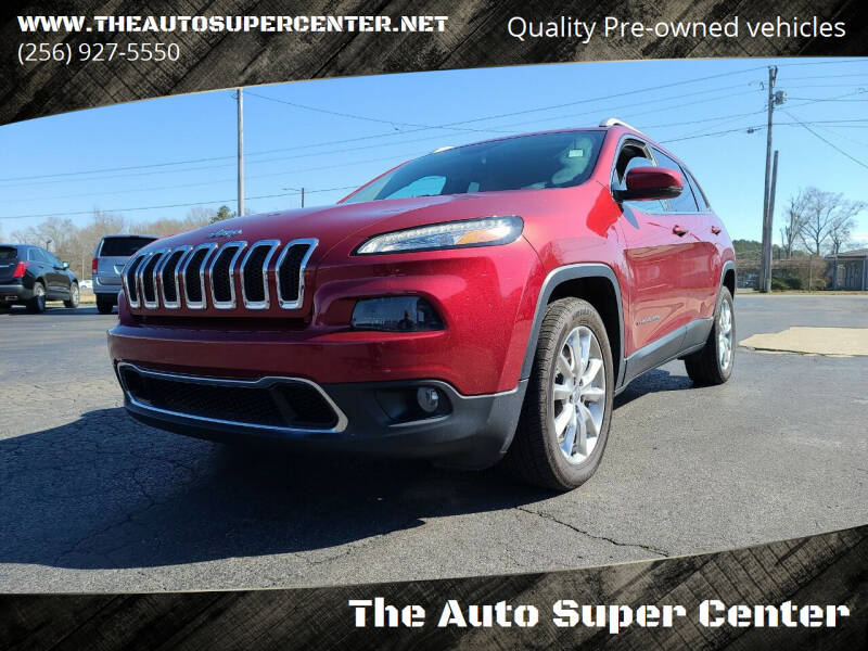 2017 Jeep Cherokee for sale at The Auto Super Center in Centre AL