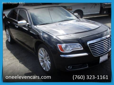 2011 Chrysler 300 for sale at One Eleven Vintage Cars in Palm Springs CA