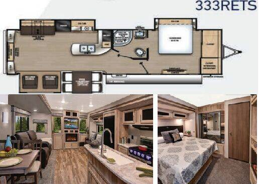 2019 Coachmen Catalina for sale at S & M WHEELESTATE SALES INC - Camper in Princeton NC