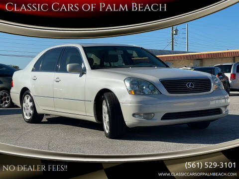 2001 Lexus LS 430 for sale at Classic Cars of Palm Beach in Jupiter FL