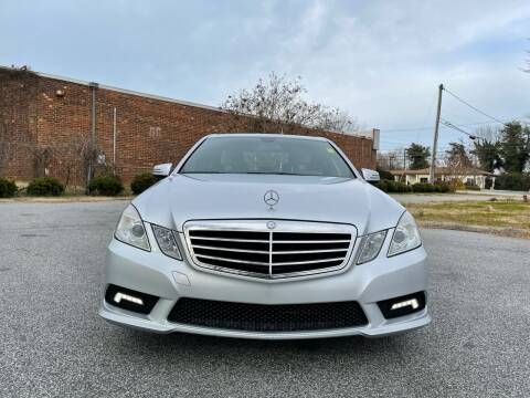 2011 Mercedes-Benz E-Class for sale at RoadLink Auto Sales in Greensboro NC