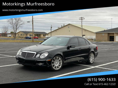 2007 Mercedes-Benz E-Class for sale at Motorkings Murfreesboro in Murfreesboro TN