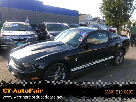 2010 Ford Mustang for sale at CT AutoFair in West Hartford CT
