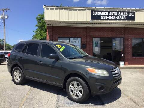 2012 Hyundai Santa Fe for sale at Guidance Auto Sales LLC in Columbia TN