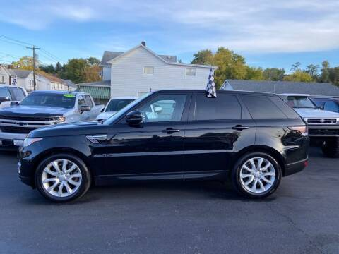 2016 Land Rover Range Rover Sport for sale at Sisson Pre-Owned in Uniontown PA
