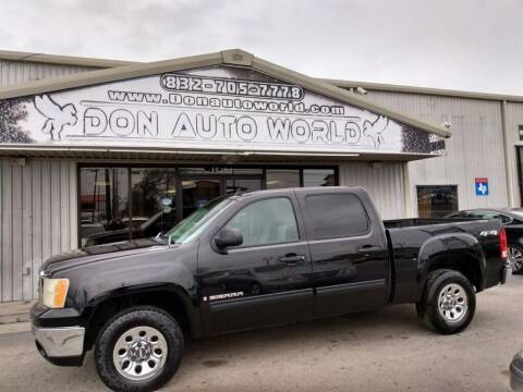 2007 GMC Sierra 1500 for sale at Don Auto World in Houston TX
