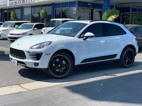 2015 Porsche Macan for sale at Euro Zone Auto in Stanton CA