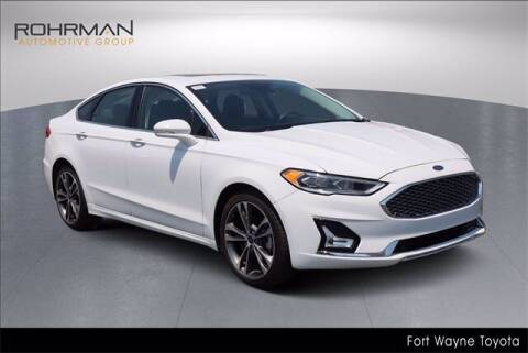2020 Ford Fusion for sale at BOB ROHRMAN FORT WAYNE TOYOTA in Fort Wayne IN