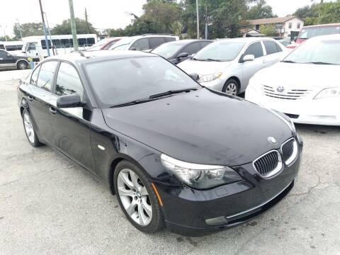 2010 BMW 5 Series for sale at P S AUTO ENTERPRISES INC in Miramar FL