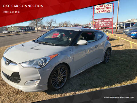 2013 Hyundai Veloster for sale at OKC CAR CONNECTION in Oklahoma City OK
