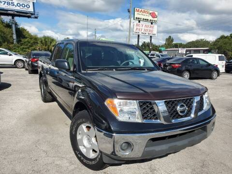 2007 Nissan Frontier for sale at Mars auto trade llc in Kissimmee FL