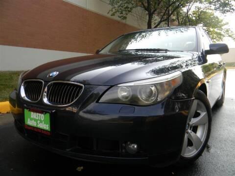 2007 BMW 5 Series for sale at Dasto Auto Sales in Manassas VA