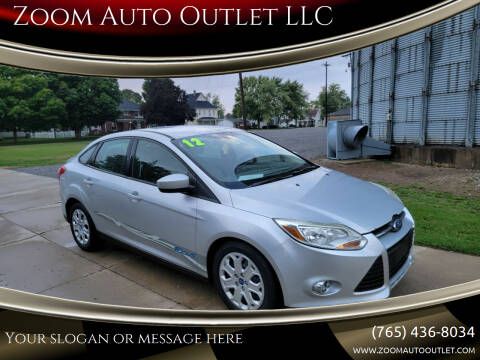 2012 Ford Focus for sale at Zoom Auto Outlet LLC in Thorntown IN