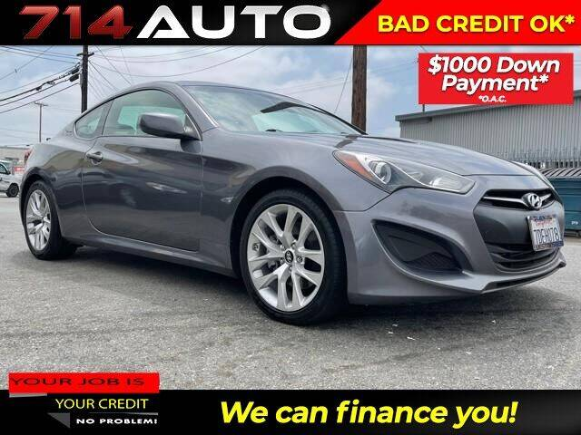 2013 Hyundai Genesis Coupe for sale at 714 Auto in Orange CA