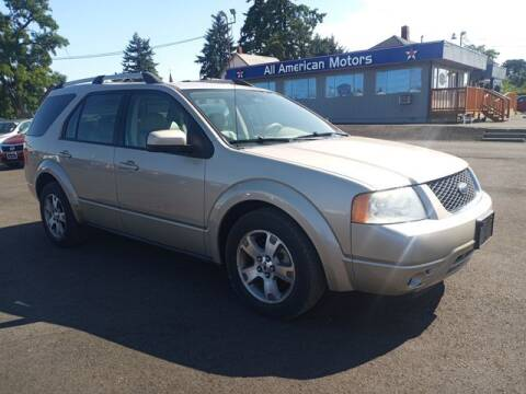 2006 Ford Freestyle for sale at All American Motors in Tacoma WA
