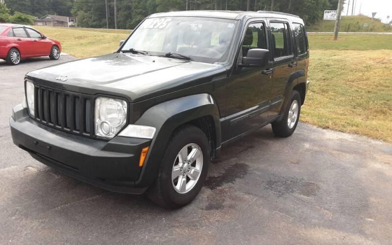2011 Jeep Liberty for sale at Mathews Used Cars, Inc. in Crawford GA