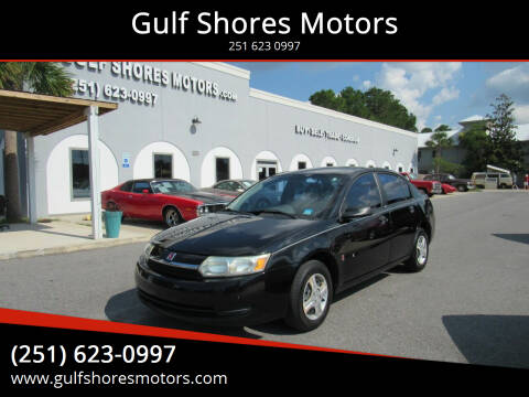 2004 Saturn Ion for sale at Gulf Shores Motors in Gulf Shores AL