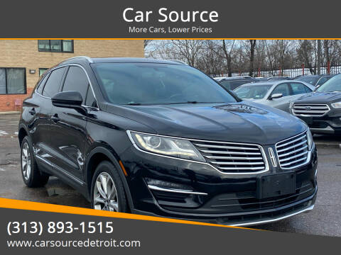 2016 Lincoln MKC for sale at Car Source in Detroit MI