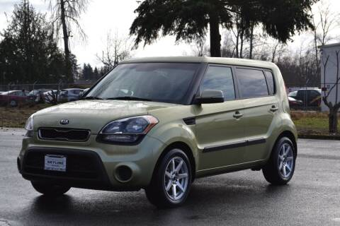 2013 Kia Soul for sale at Skyline Motors Auto Sales in Tacoma WA