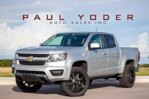 2017 Chevrolet Colorado for sale at PAUL YODER AUTO SALES INC in Sarasota FL