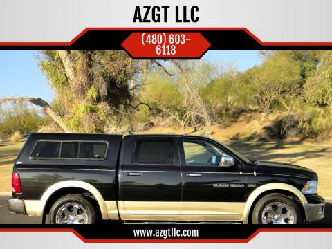 2011 RAM Ram Pickup 1500 for sale at AZGT LLC in Phoenix AZ