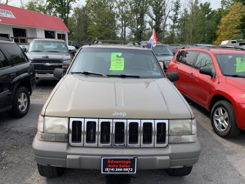 1997 Jeep Grand Cherokee for sale at Advantage Auto Sales in Johnstown PA