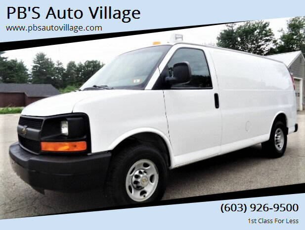 2013 Chevrolet Express Cargo for sale at PB'S Auto Village in Hampton Falls NH