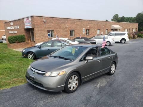 2008 Honda Civic for sale at ARA Auto Sales in Winston-Salem NC