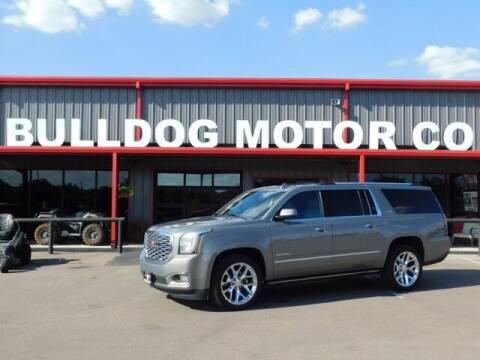 2019 GMC Yukon XL for sale at Bulldog Motor Company in Borger TX