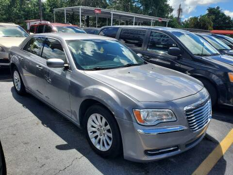 2013 Chrysler 300 for sale at America Auto Wholesale Inc in Miami FL