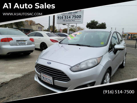 2015 Ford Fiesta for sale at A1 Auto Sales in Sacramento CA