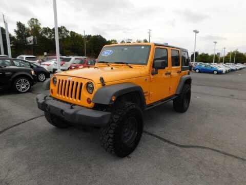 2012 Jeep Wrangler Unlimited for sale at Paniagua Auto Mall in Dalton GA