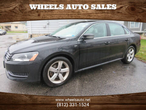 2014 Volkswagen Passat for sale at Wheels Auto Sales in Bloomington IN