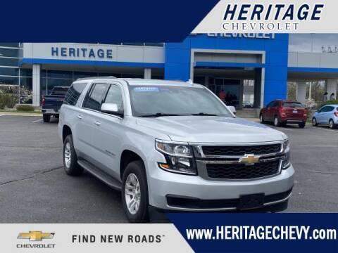 2019 Chevrolet Suburban for sale at HERITAGE CHEVROLET INC in Creek MI
