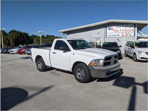 2012 RAM Ram Pickup 1500 for sale at My Value Car Sales in Venice FL